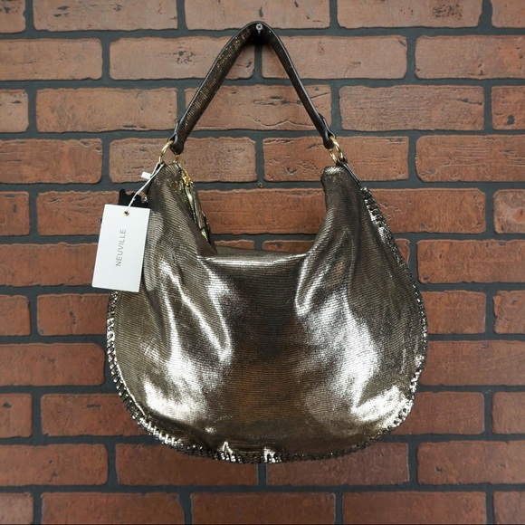 Anthropologie Handbags - ANTHROPOLOGIE Neuville Spicy Tote Lezard Bronze